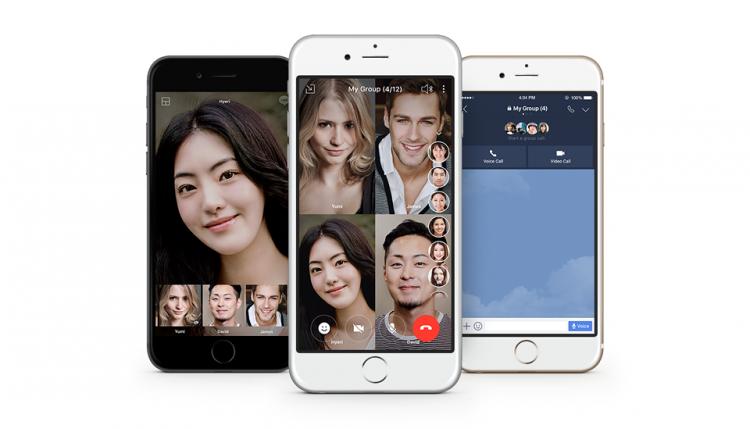 Фото - В мессенджере Line появились видеозвонки на 200 участников»